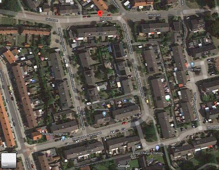 Holzstraat Zeebuurt Harderwijk Foto Google Maps