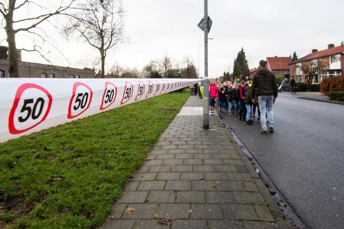 Verkeersveiligheid actie in de Wittenhagen Harderwijk