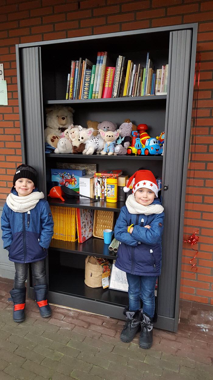Opening weeggeefkast Wittenhagen