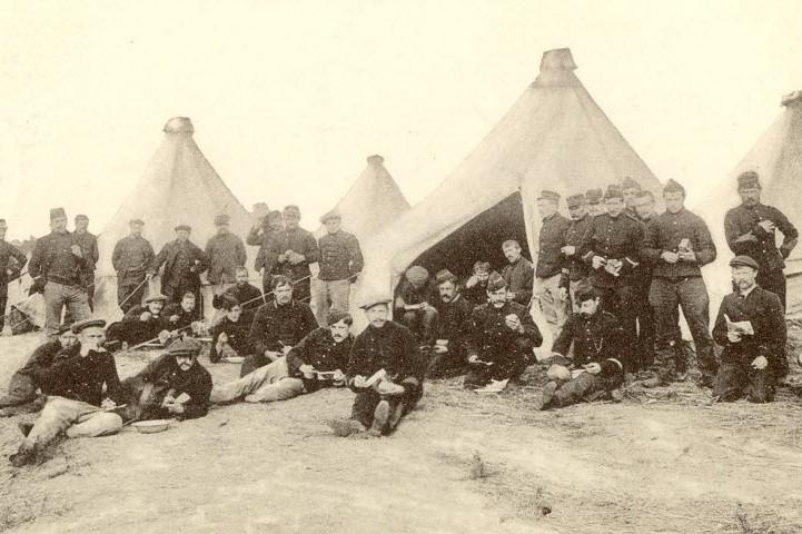 10 oktober 1914 - aankomst Belgische vluchtelingen