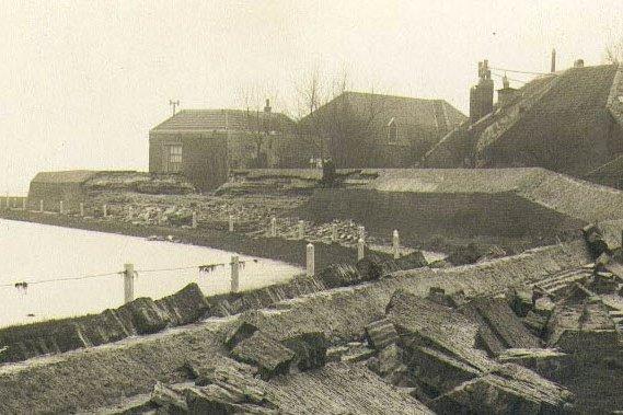 14 januari 1916 - Watersnoodramp