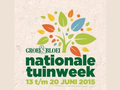 Groei&Bloei: Nationale Tuinweek, 13 t/m 20 juni 2015