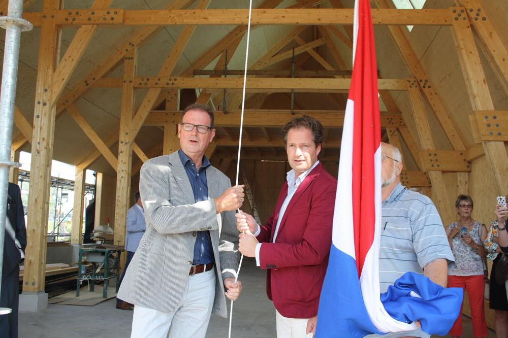 Hoogste punt bereikt nieuwbouw Vischafslag en Botterwerf Harderwijk