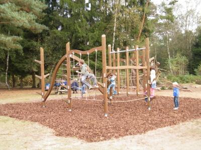Takkenweek voor jeugd Harderwijk in het bos