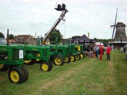 Oldtimershow in Hulshorst op 8 augustus 2015