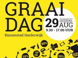 Zaterdag 29 augustus is het weer volop voordeel jagen in de binnenstad van Harderwijk