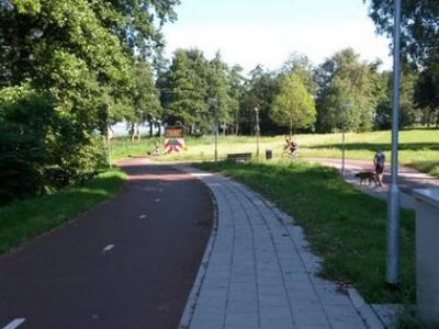 Zeepad in Harderwijk alleen voor fietsers