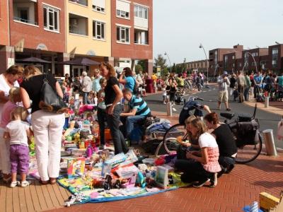 Kleedjesmarkt en Triasrun Drielanden Harderwijk