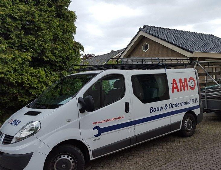Onderhoud uw pand AMO Bouw & Onderhoud BV