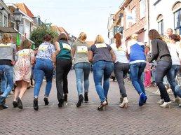 Stiletto run in de Smeepoortstraat op zaterdag 26 september in Harderwijk