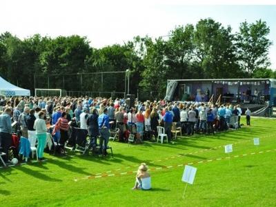 Kerkelijk seizoen Protestantse Gemeente Harderwijk zonnig van start
