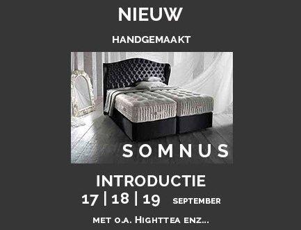 Slaaphof Harderwijk introduceert 17, 18 en 19 september SOMNUS