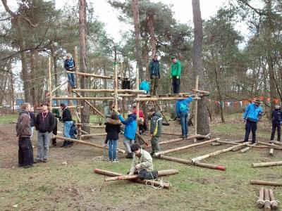 Scoutinggroepen Verbraak Margriet en Ragay Redoz uit Harderwijk organiseren zaterdag een unieke burendagactiviteit!