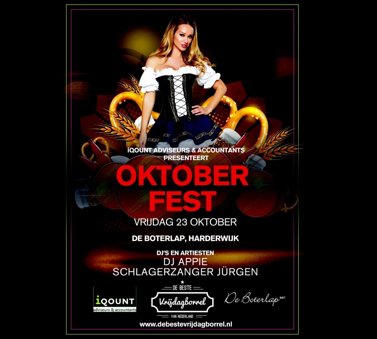 iQOUNT groots Oktober Fest in de Boterlap Harderwijk