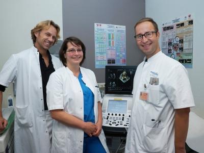 Nieuw in Ziekenhuis St Jansdal:  Hartziekten opsporen met 3D-echo