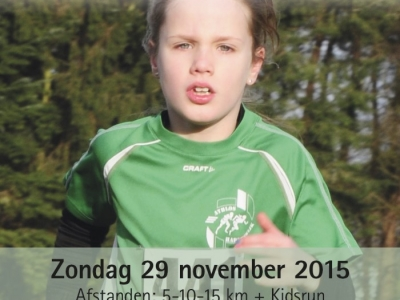 Bosloopcompetitie Athlos Harderwijk zondag 29 november 2015
