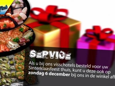 Extra service van Martin Visch Harderwijk op 5 en 6 december 2015