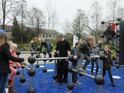 Opening speelveld Klaproospad Stadsweiden Harderwijk (filmpje + foto's)
