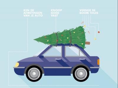 Nu alle pepernoten zijn opgeruimd, wordt het tijd voor de Kerstboom