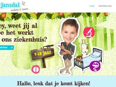 Kinderwebsite voor St Jansdal