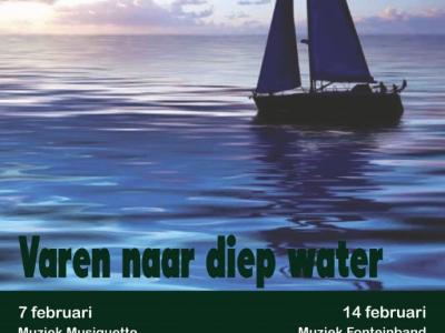 Fonteindienst, thema: Varen naar diep water!