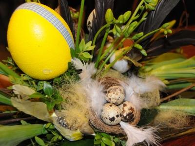 Paasworkshop bloemschikken door Groei en Bloei
