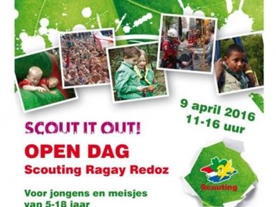 Scouting Ragay Redoz organiseert open dag op 9 april