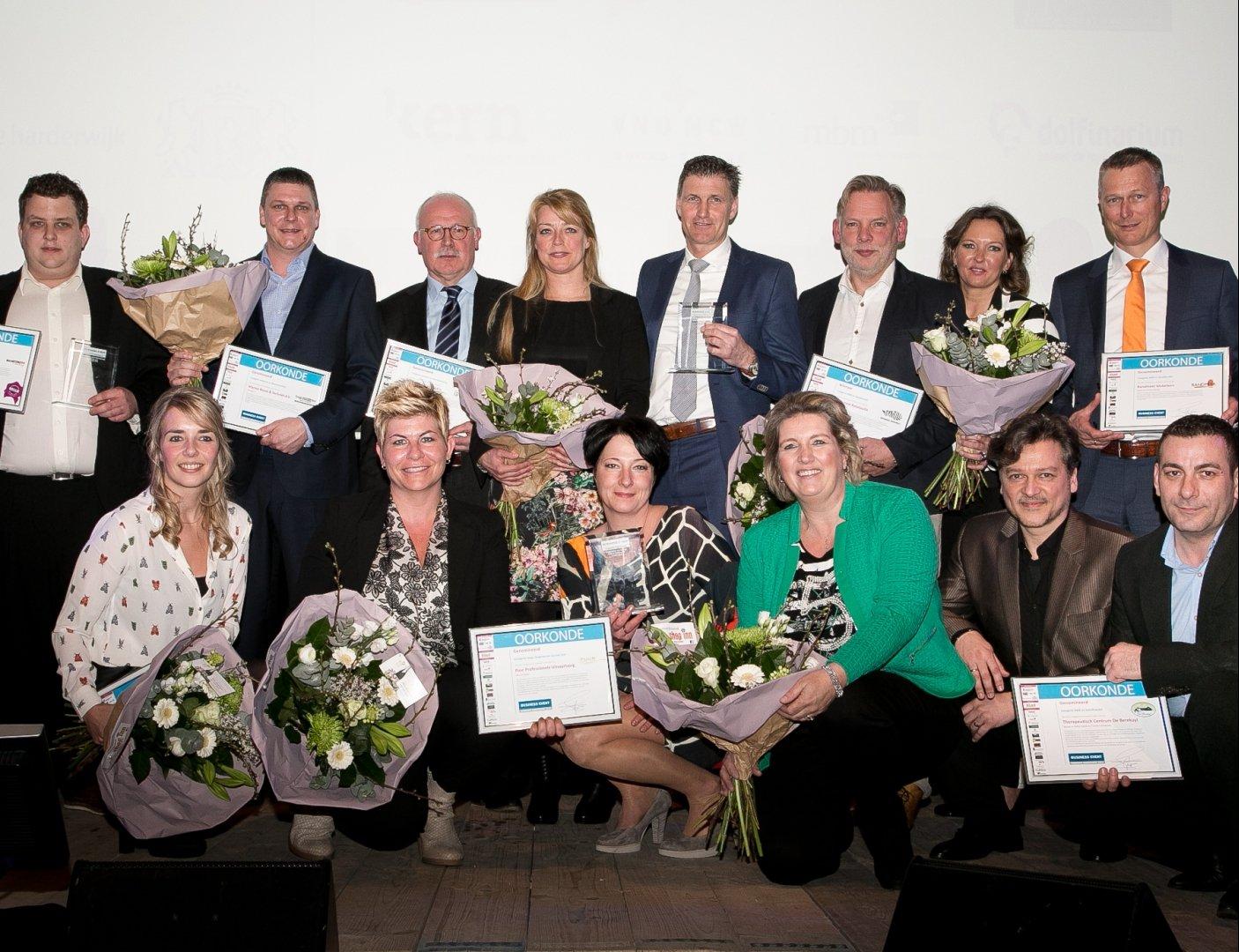 Genomineerden Business Event Harderwijk