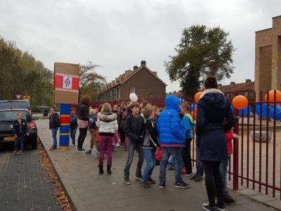 Inloopbijeenkomst De Harder en schoolgebouw Het Kompas in Harderwijk