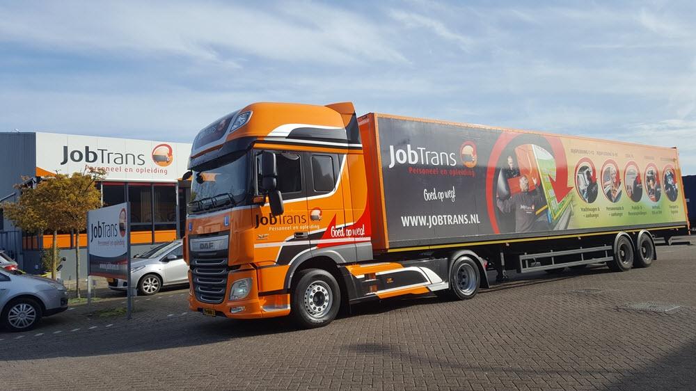 JobTrans officieel opleider voor DAF Nederland