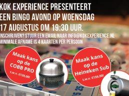 Kok Experience organiseert 'Back to the Bingo'!