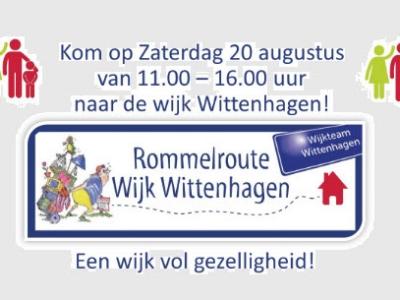 Rommelroute in de Wijk Wittehagen Harderwijk