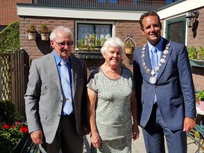 Echtpaar H.G.T. Righolt & P.W. Righolt-van Lutterveld vieren hun 60-jarig huwelijksjubileum
