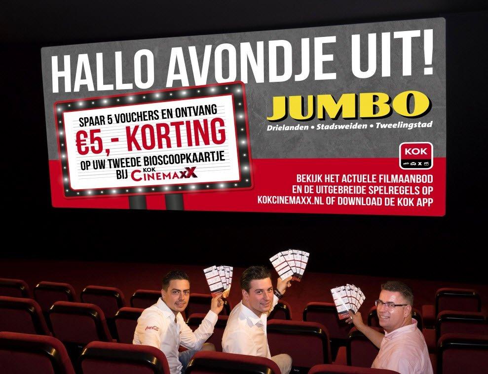 Actie Kok CinemaxX vs. Jumbo