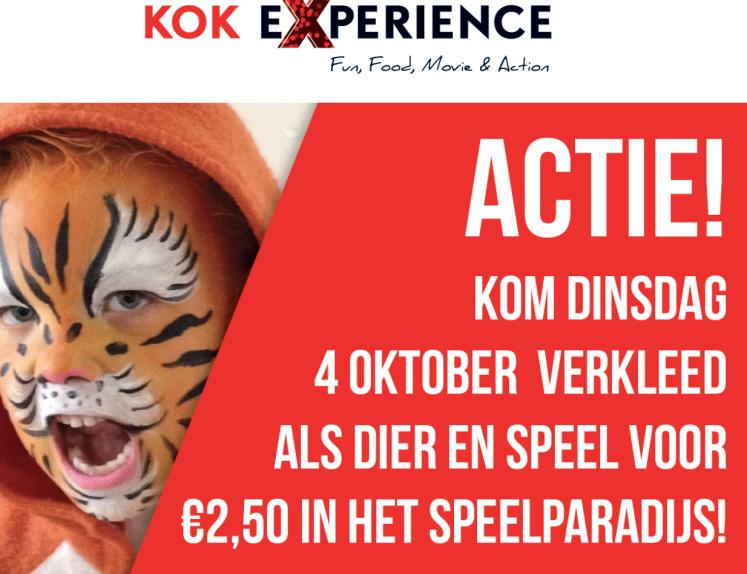 Opening buiten speelparadijs bij Kok Experience Harderwijk