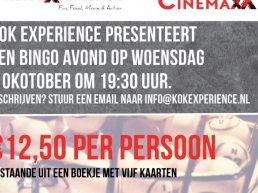 Bingo avond bij Kok Experience Harderwijk