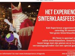 Het Sinterklaas feest bij Kok Experience Harderwijk
