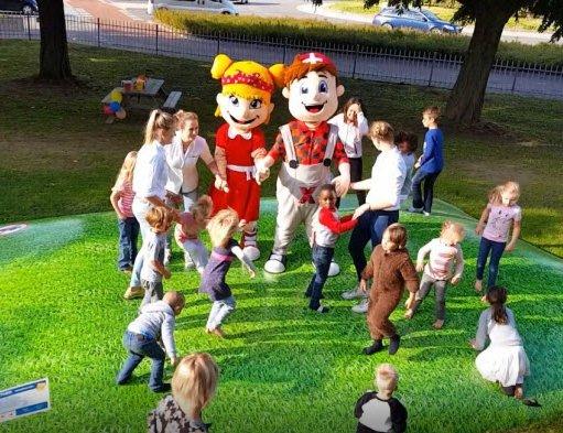 Het buiten speelparadijs bij Kok Experience Harderwijk is geopend! (Filmpje)