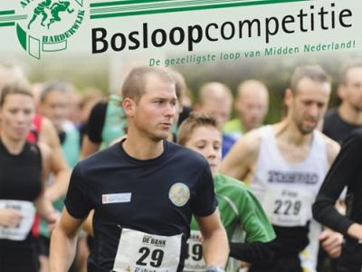 Athlos Bosloopcompetitie zondag 30 oktober 2016