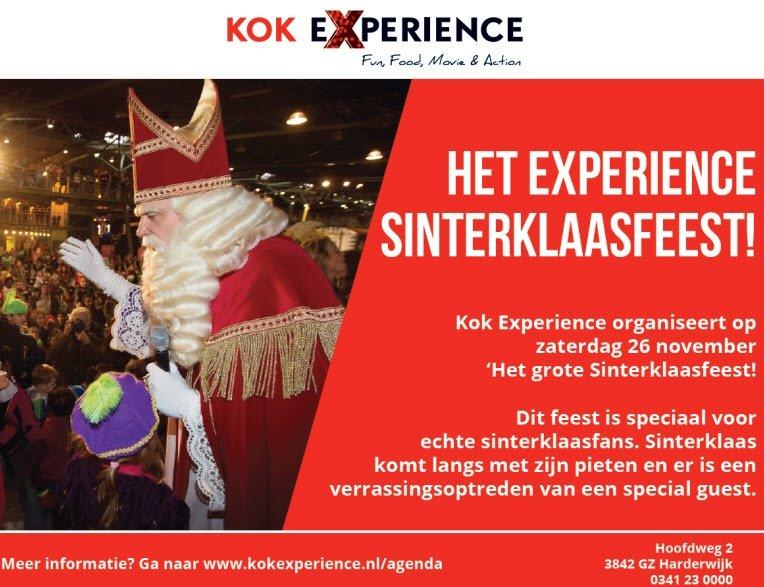 Het Experience Sinterklaas feest!