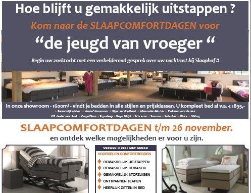 Slaapcomfortdagen bij Slaaphof Harderwijk