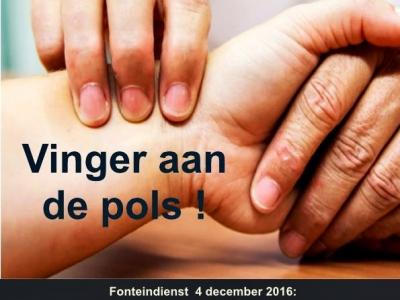 Fonteindienst VINGER AAN DE POLS!