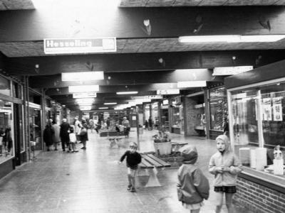 Herinner je je Harderwijk: oude foto van winkelcentrum Stadsdennen 1970