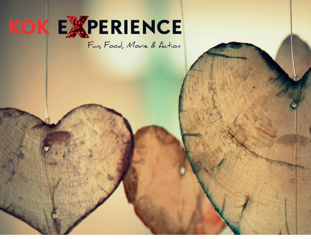 Vier Valentijnsdag met een romantisch diner en een klassieke film in 3D