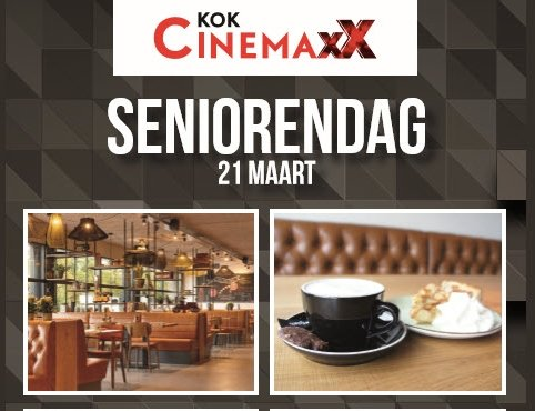 Senioren Special bij Kok CinemaxX