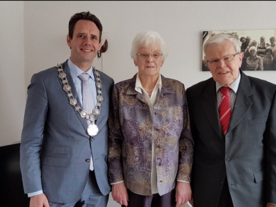 Bruidspaar Groeneveld & Van Zuijlen 60 jaar getrouwd!