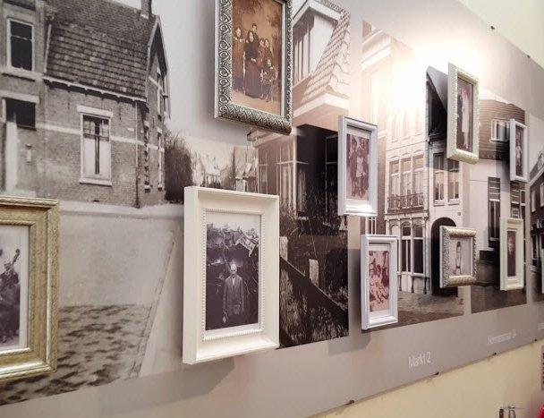 Opening van unieke fotowand in voormalige synagoge Harderwijk