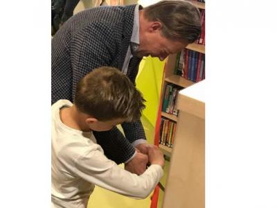 Officiële opening 'de Bibliotheek op school' op Het Kompas