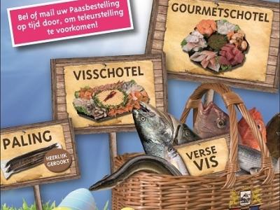 Bel & bestel uw viswensen voor het Paasweekend !