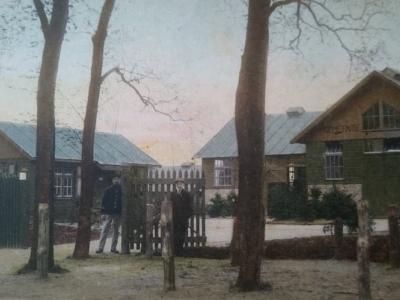 Herinner je je Harderwijk: oude foto van het Gemeente Slachthuis Weiburglaan Harderwijk